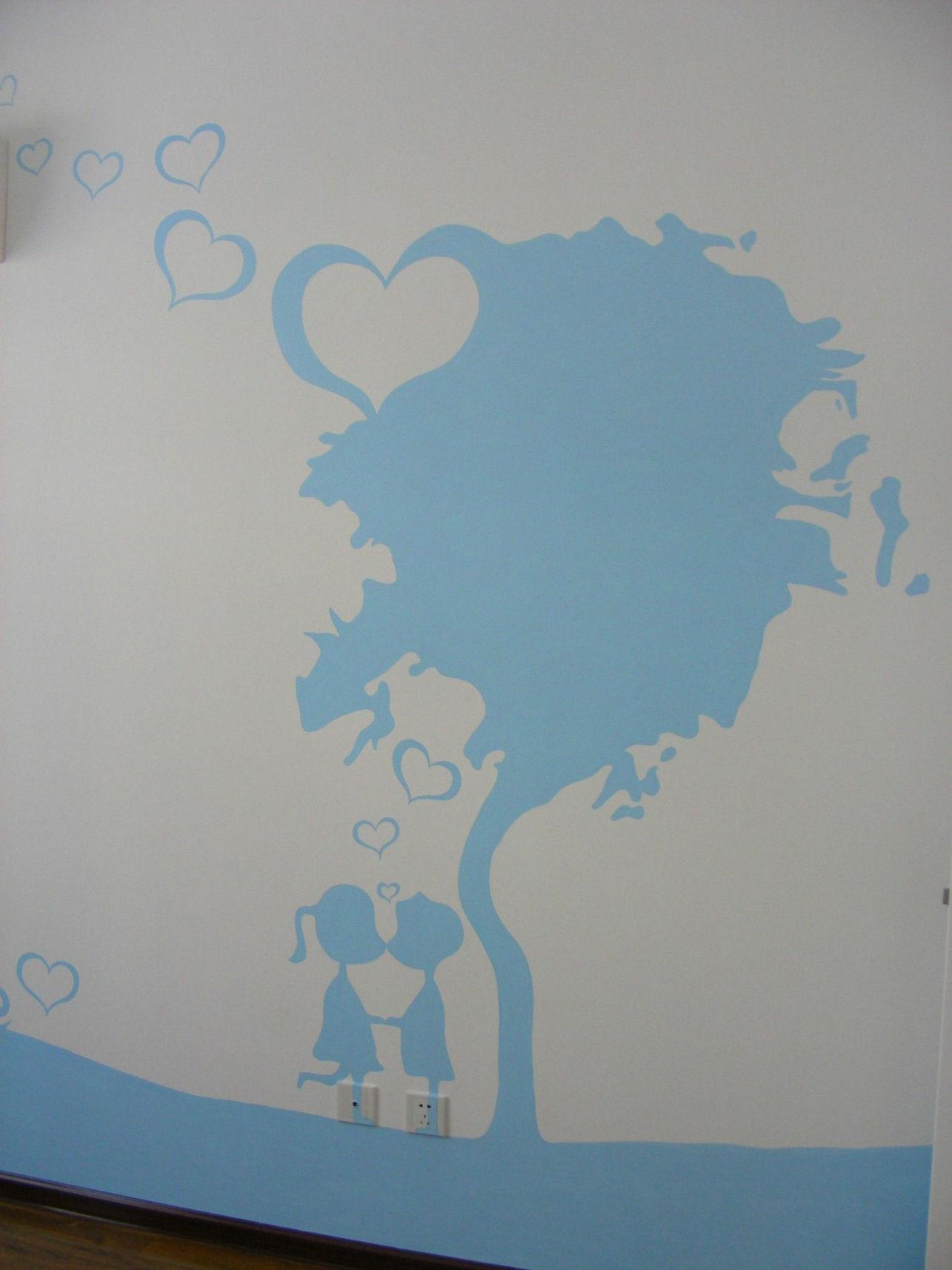天津手绘墙画 - 天津世嘉视觉创意墙体彩绘工作室