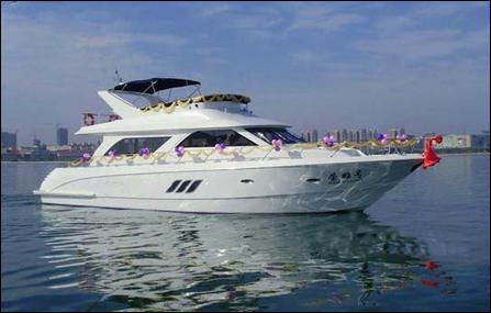 【国庆旅游】游艇观光 婚纱摄影 海上钓鱼 海上会议
