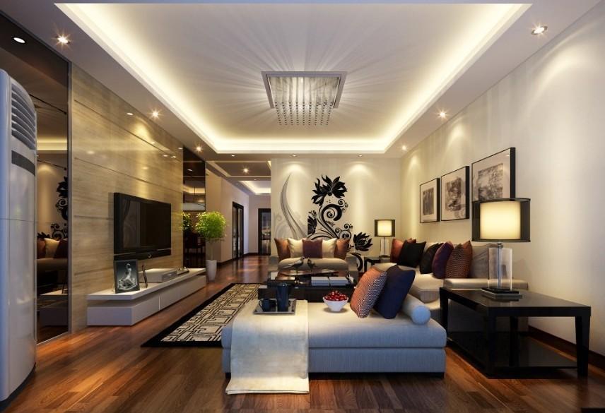 100平米房屋装修效果图高清图片