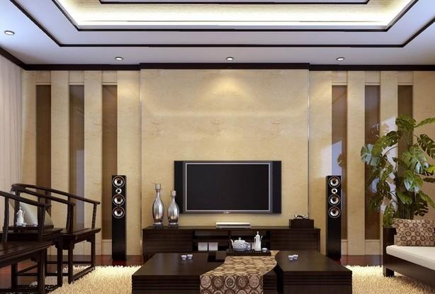 房屋装修电视背景墙