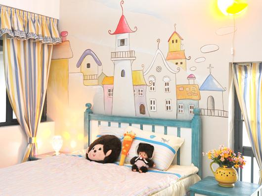 小户型儿童房装修-58同城
